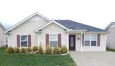 Clarksville Rental For Rent: 535 Oakmont Drive