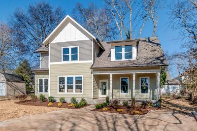 Nashville Single Family Home For Sale: 2009 B Rose Cliff Dr