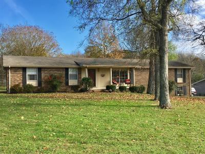 Sumner County Single Family Home For Sale: 147 Curtis Cross Rds