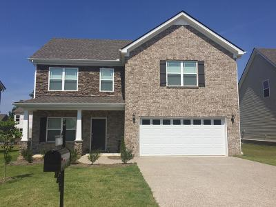 Spring Hill Single Family Home For Sale: 1031 Solomon Lane Lot 242