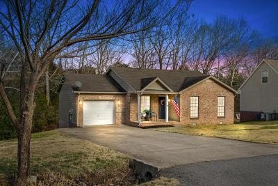 Christian County, Ky, Todd County, Ky, Montgomery County Single Family Home For Sale: 1249 Kendall Drive