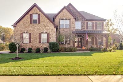 Nolensville Single Family Home For Sale: 2087 Eucalyptus Way