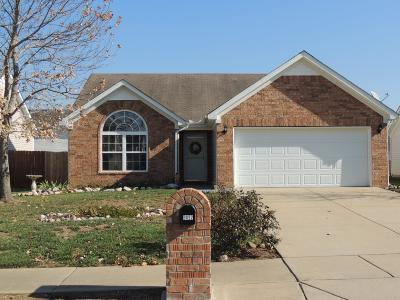 Spring Hill Single Family Home For Sale: 3022 Deer Trail Dr