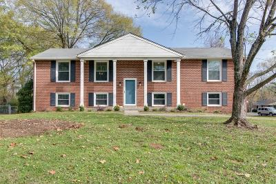 Nashville Single Family Home For Sale: 218 Blackman Rd
