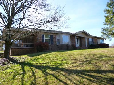Shelbyville Single Family Home For Sale: 721 Rabbit Branch Rd