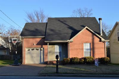 Davidson County Single Family Home For Sale: 4121 Pleasant Colony Dr