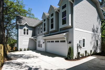 Nashville Single Family Home For Sale: 136 B Woodmont Blvd