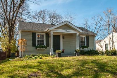 Nashville Single Family Home For Sale: 329 Chamberlin