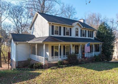 Hendersonville Single Family Home For Sale: 103 Hearthside Ct N