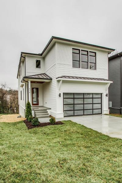 East Nashville Single Family Home Under Contract - Showing: 807 B Porter Rd