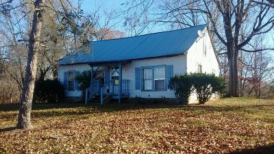 Smithville TN Single Family Home For Sale: $68,500