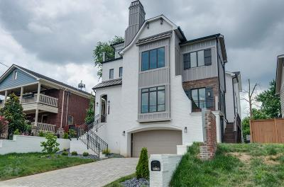 Nashville Single Family Home Under Contract - Showing: 1619 A 7th Ave N