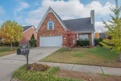 Spring Hill  Single Family Home For Sale: 1008 Chapmans Crossing Dr
