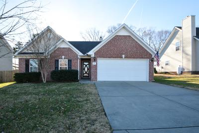 Spring Hill  Single Family Home Under Contract - Showing: 2026 Red Jacket Trce
