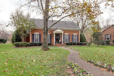 Franklin Single Family Home Under Contract - Showing: 109 Ashlawn Ct