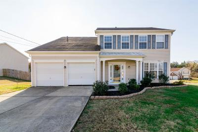 Mount Juliet Single Family Home Under Contract - Showing: 2105 Ponty Pool Dr