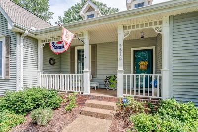 Franklin Single Family Home For Sale: 4516 Pratt Ln