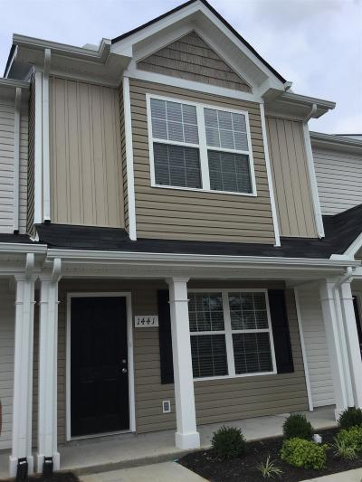 Rutherford County Rental For Rent: 1441 Orange Ct