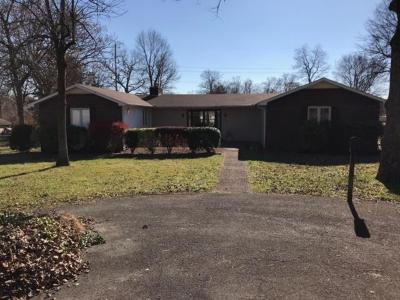 Shelbyville Single Family Home For Sale: 1700 Wildwood Dr
