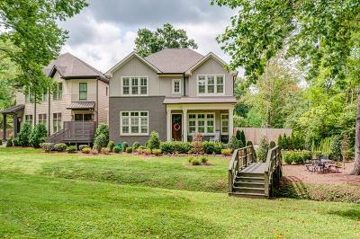 Green Hills Single Family Home For Sale: 2801 Valley Rd
