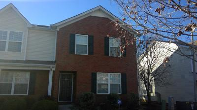 Murfreesboro TN Single Family Home Under Contract - Showing: $154,500