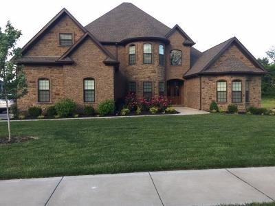Clarksville Single Family Home For Sale: 135 Copperstone