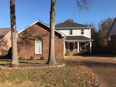 Franklin Single Family Home For Sale: 416 N Cardinal Ct