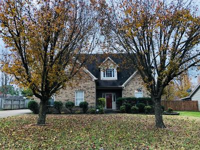 Single Family Home Under Contract - Showing: 955 Lavergne Ln