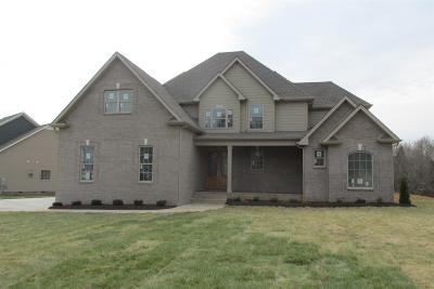 Clarksville Single Family Home For Sale: 1000 Chagford Drive