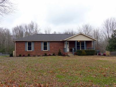 Davidson County Single Family Home Under Contract - Showing: 2950 Morgan Rd