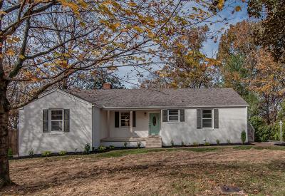 Nashville Single Family Home Under Contract - Showing: 3421 McGavock Pike