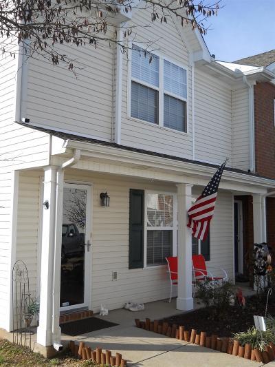 Murfreesboro Condo/Townhouse For Sale: 431 Shoshone Pl