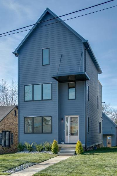 Nashville Single Family Home For Sale: 1102 A N 8th St