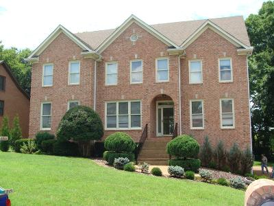Brentwood TN Single Family Home For Sale: $619,900