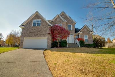 Spring Hill Single Family Home Under Contract - Showing: 3006 Helfrich Ct