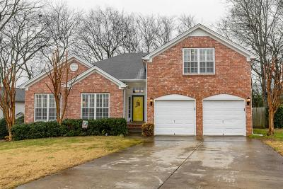 Spring Hill Single Family Home For Sale: 2800 Paradise Ct