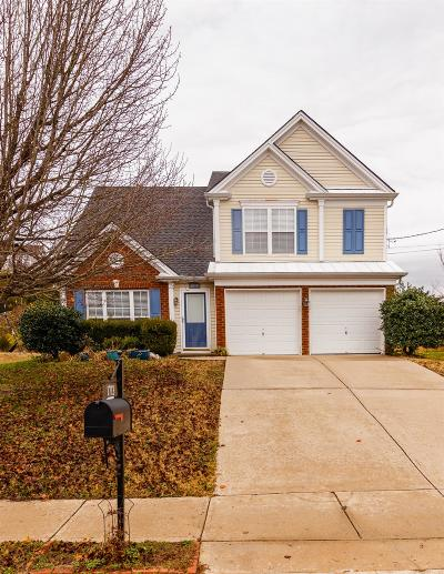 Wilson County Single Family Home Under Contract - Showing: 1713 Eagle Trace Dr