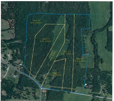 Rutherford County Residential Lots & Land For Sale: Tract 1 Vaught Rd