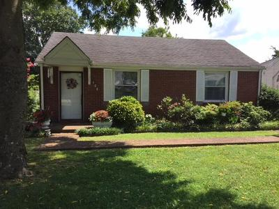 Davidson County Single Family Home For Sale: 408 Elm St