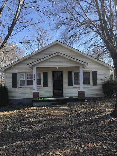 Columbia  Single Family Home Under Contract - Showing: 815 Fairview Dr