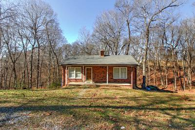 Pleasant View Single Family Home Under Contract - Showing: 2130 McMahan Hollow Rd