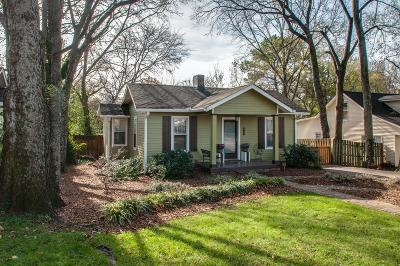 Sylvan Park Single Family Home Under Contract - Showing: 5209 Park Ave
