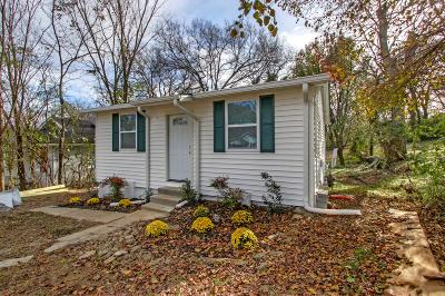 Davidson County Single Family Home For Sale: 417 Patterson St