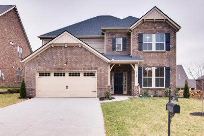 Mount Juliet Single Family Home For Sale: 5033 Napoli Drive Lot # 117