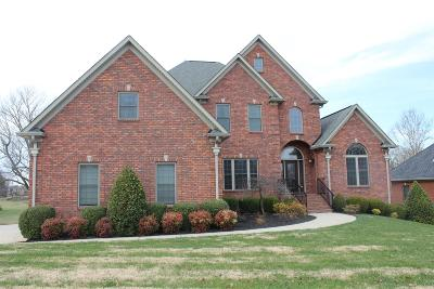 Christian County, Ky, Todd County, Ky, Montgomery County Single Family Home For Sale: 310 Gray Hawk Trl