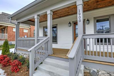 Nashville Single Family Home For Sale: 1900 5th Ave N
