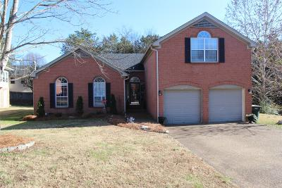 Wilson County Single Family Home For Sale: 3407 McVie Ct