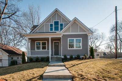 East Nashville Single Family Home For Sale: 621 S 13th St
