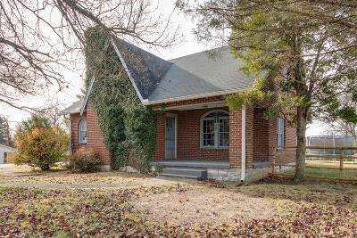 Shelbyville Single Family Home For Sale: 1004 S Cannon Blvd