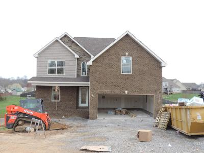 Clarksville Single Family Home For Sale: 802 Primrose Ct